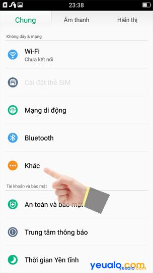 Cách phát Wifi Oppo 2