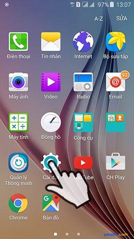 Hướng dẫn cách phát Wifi từ điện thoại Samsung Galaxy 2