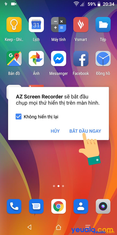Cách phát trực tiếp màn hình điện thoại lên Facebook 8