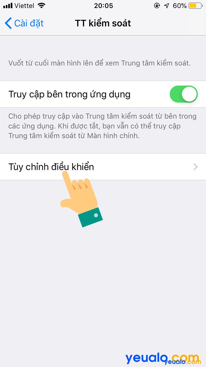 Cách quay màn hình iPhone trên iOS 11 3