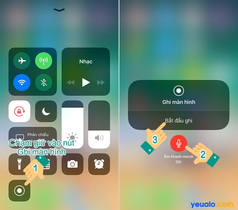Cách quay màn hình iPhone 11, 11 Pro, 11 Pro Max…