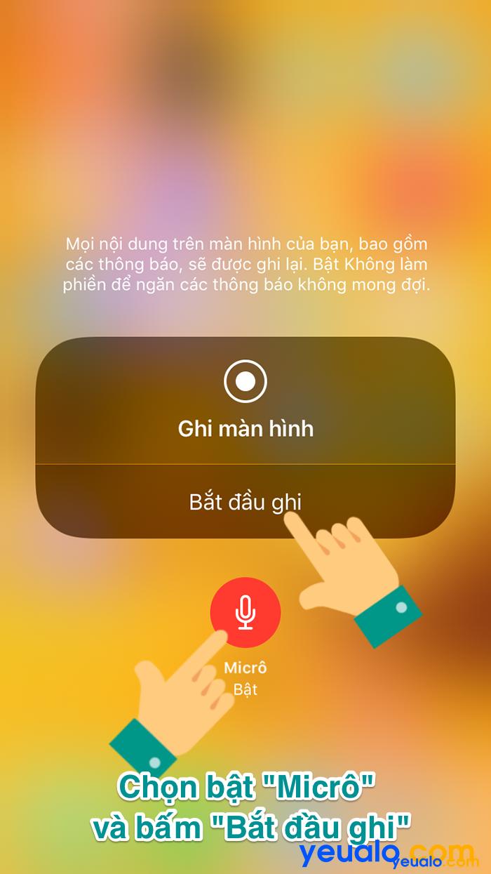 Cách quay màn hình iPhone X XR XS Max 2