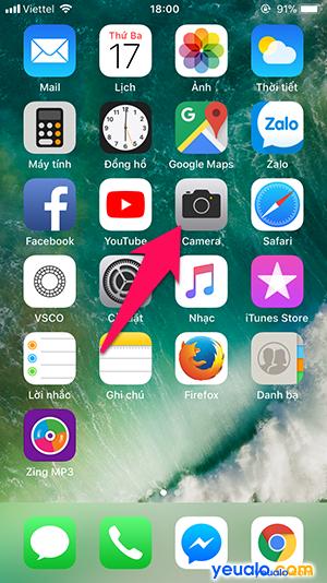 Cách quét mã QR trên iPhone