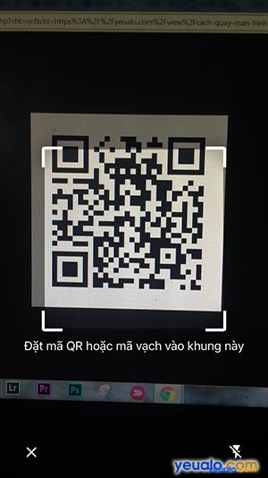 Cách quét mã QR trên iPhone 4