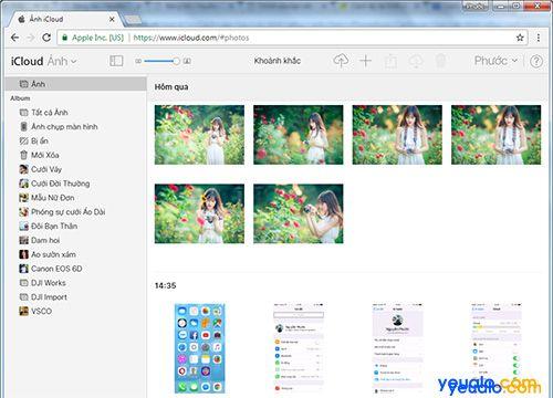 Cách sao lưu, khôi phục ảnh trên iPhone bằng iCloud 10