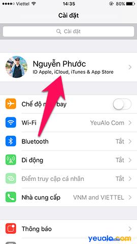 Cách sao lưu, khôi phục ảnh trên iPhone bằng iCloud 2