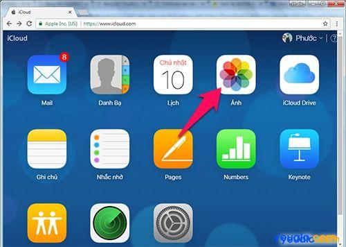 Cách sao lưu, khôi phục ảnh trên iPhone bằng iCloud 9