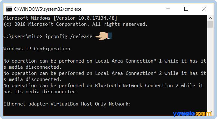 Cách sửa lỗi Wifi bị dấu chấm than vàng 7