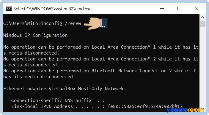 Cách sửa lỗi Wifi bị dấu chấm than vàng 8