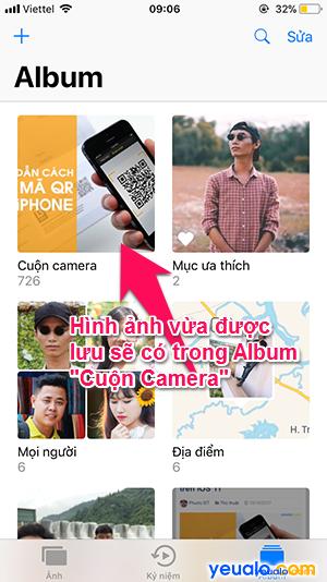 Cách tải ảnh trên Google Web về iPhone 4