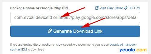 Cách tải game, ứng dụng Android từ Google Play về máy tính