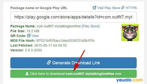 Cách tải game, ứng dụng Android từ Google Play về máy tính 2