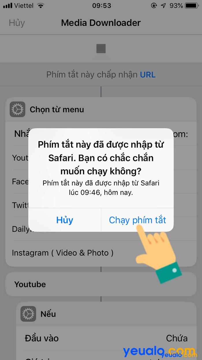 Cách tải video YouTube về iPhone 13