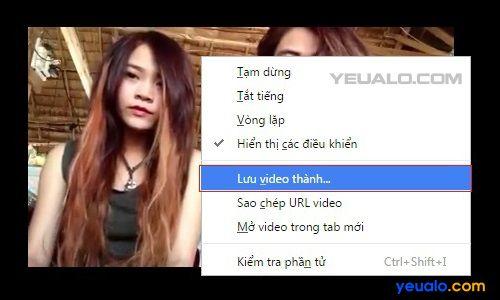 Thủ thuật tải video trên Facebook về máy tính