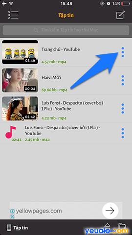 Cách tải video trên Youtube về iPhone 7