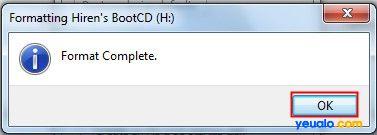 Cách tạo USB Hiren Boot 15