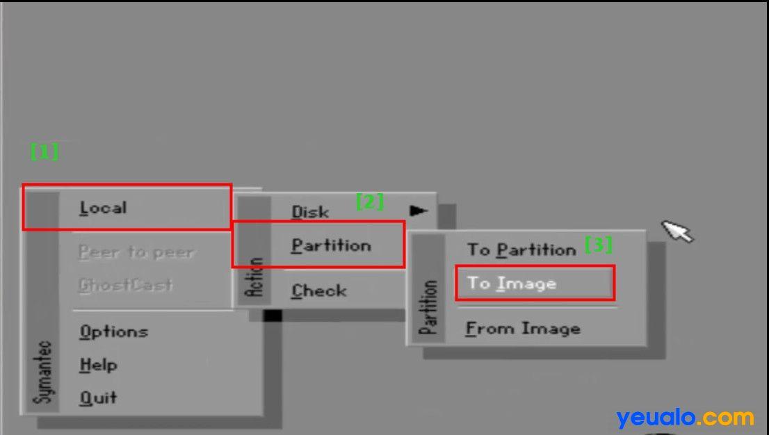Cách tạo file Ghost 11