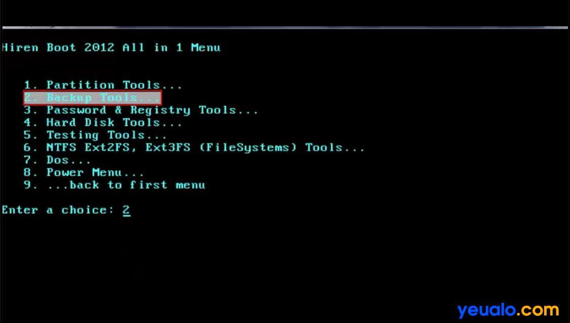 Cách tạo file Ghost 2