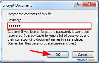 Cách tạo mật khẩu cho file Word 2007 2010 2013 2016 11