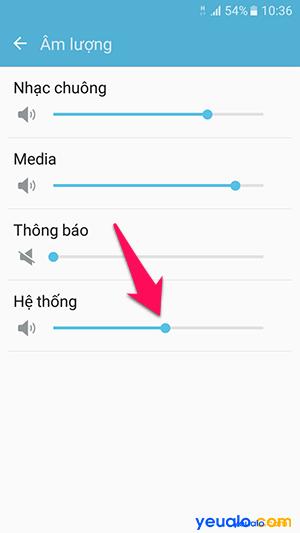 Cách tắt âm bàn phím điện thoại Samsung Galaxy 5