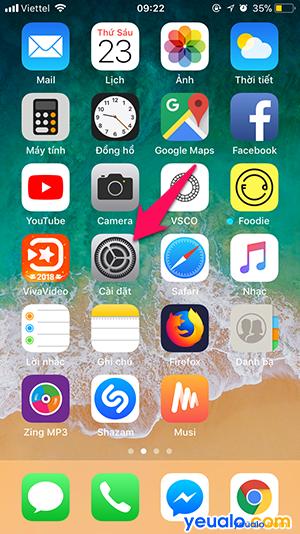 Cách tắt âm bàn phím điện thoại iPhone 1
