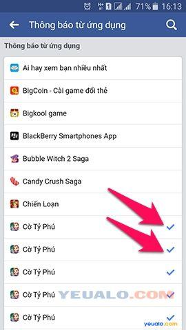 Cách thông báo mời chơi game trên Facebook 4