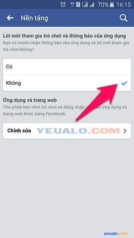 Cách thông báo mời cài ứng dụng trên Facebook 4