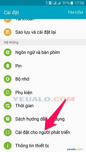 Cách tắt chế độ reactivation lock trên điện thoại Samsung Galaxy 2