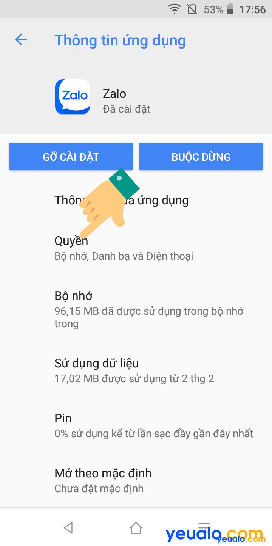 Cách Tắt đồng bộ danh bạ Zalo trên Android 4