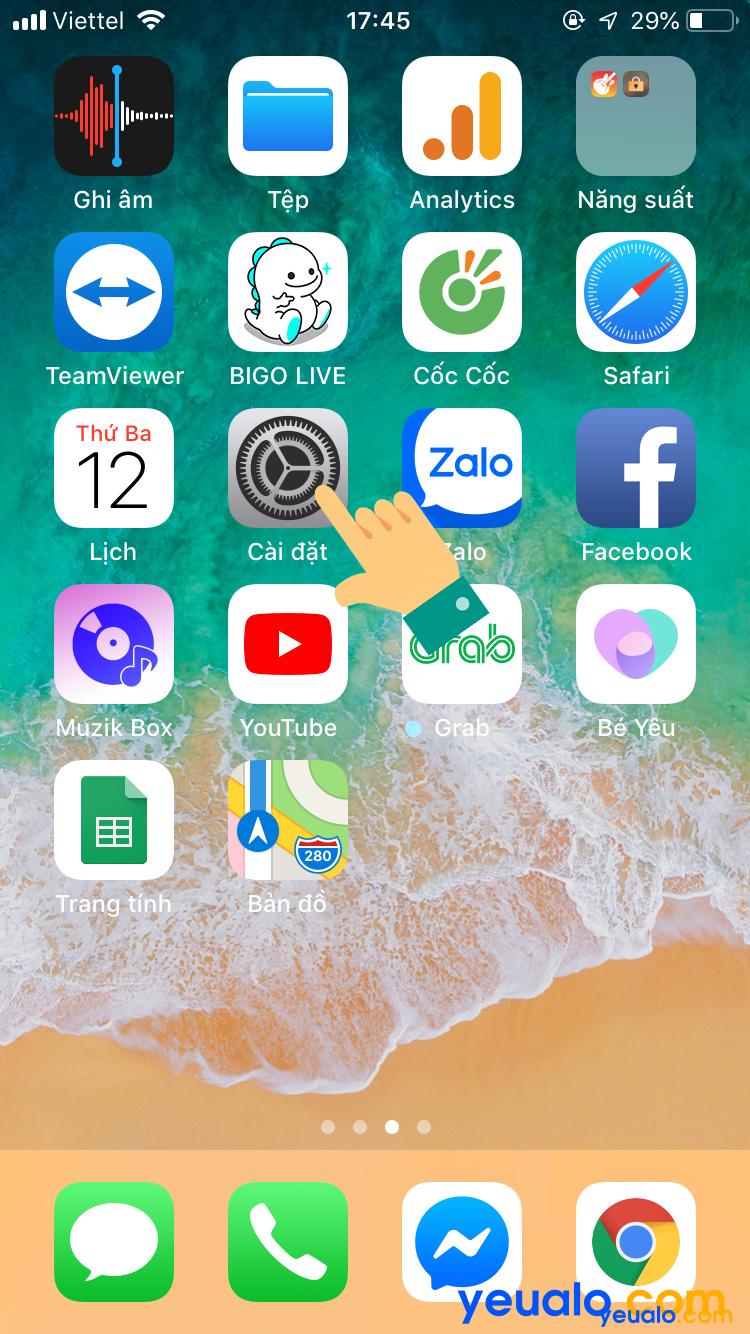 Cách Tắt đồng bộ danh bạ Zalo trên iPhone