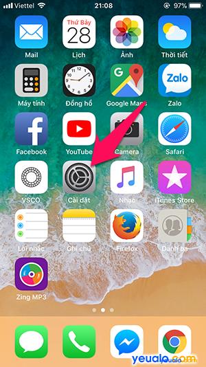 Cách tắt iPhone không cần dùng phím nguồn 1