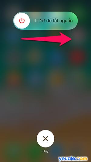 Cách tắt iPhone không cần dùng phím nguồn a3