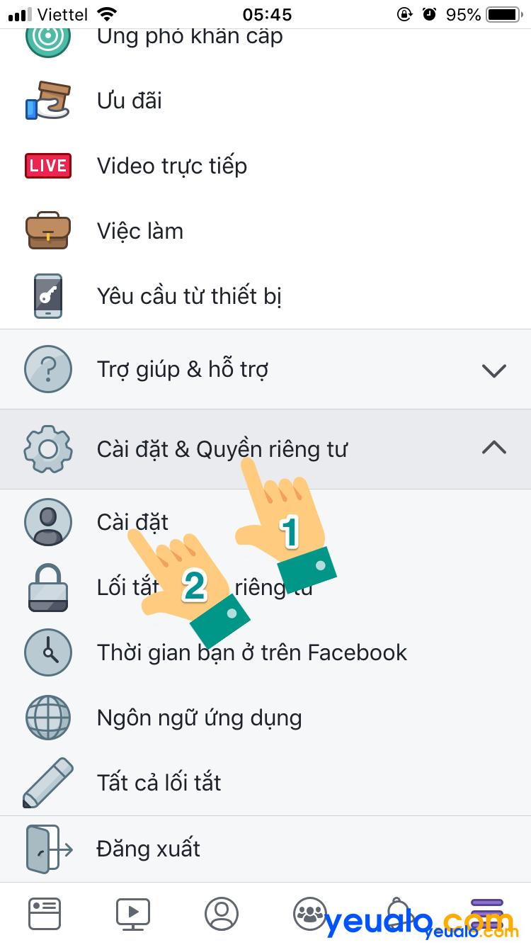 Cách tắt nhận dạng khuôn mặt trên Facebook 2
