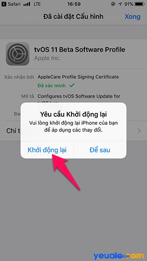 Chặn cập nhật iOS 8