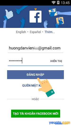 Cách thay đổi giới tính trên Facebook bằng điện thoại