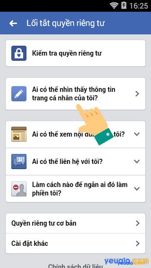 Cách thay đổi giới tính trên Facebook bằng điện thoại 4