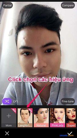 """Hướng dẫn gắn râu vào ảnh bằng phần mềm Makeup Plus theo trào lưu """"Soái Ca"""" 5"""