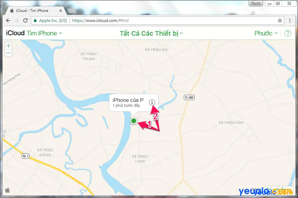 Cách Tìm iPhone bị mất 1