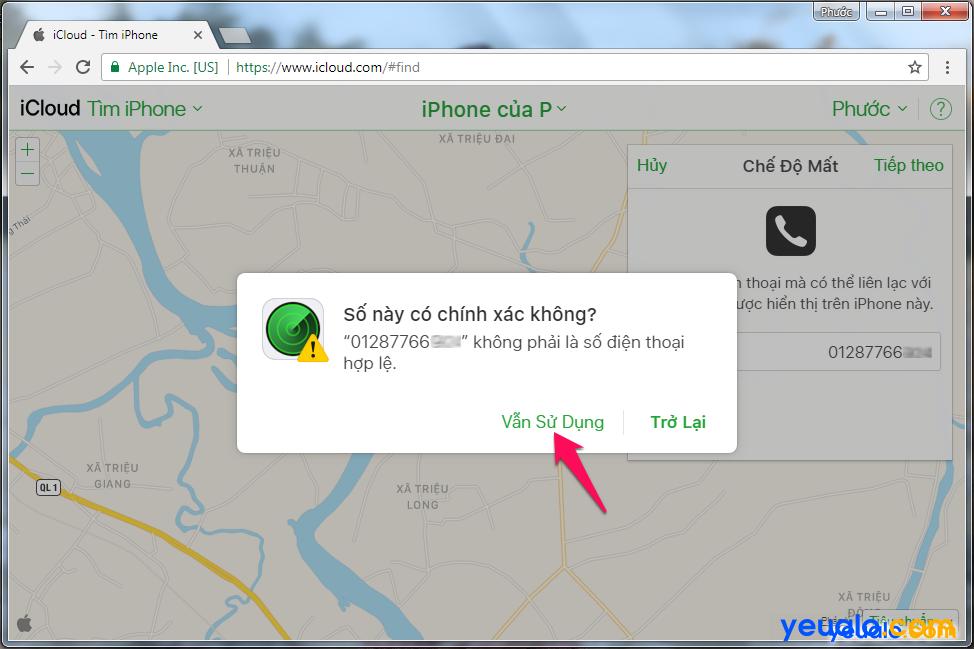 Cách Tìm iPhone bị mất 5