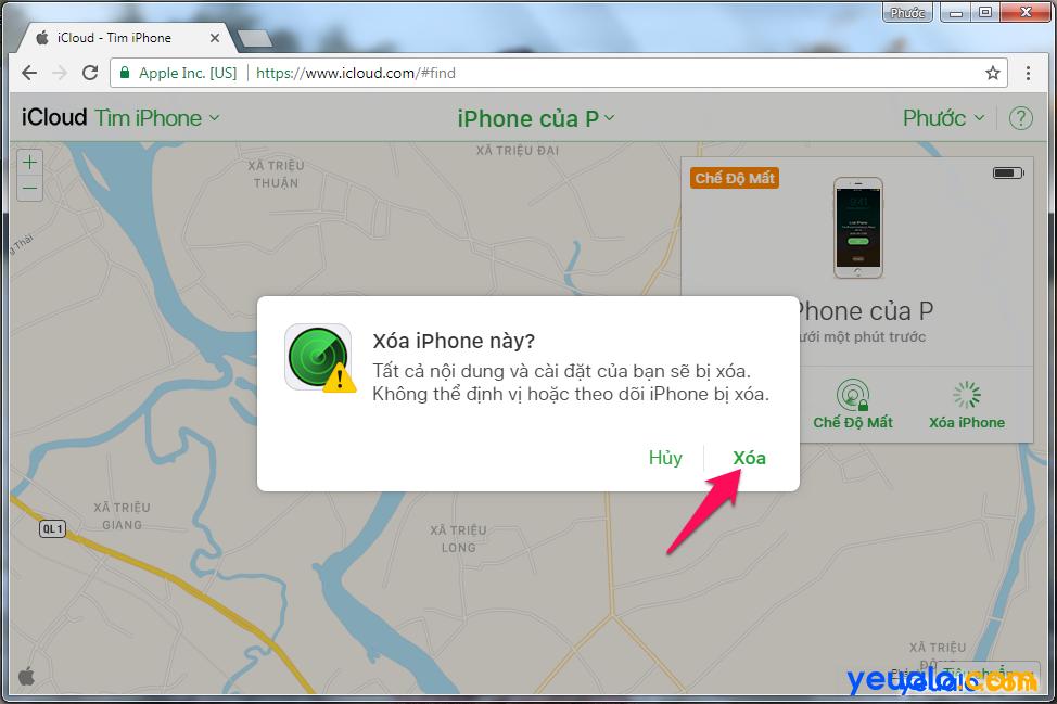 Cách Tìm iPhone bị mất 8