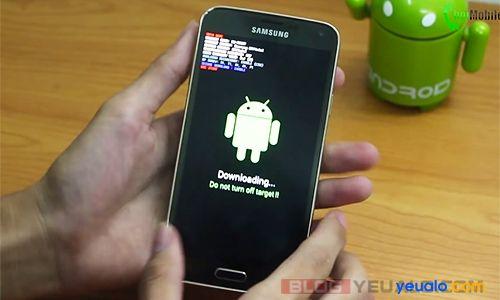 Cách up ROM cho điện thoại Samsung Galaxy 3