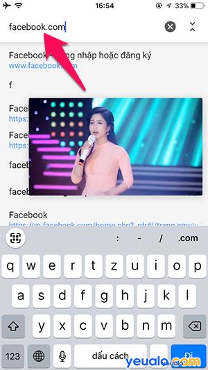 Cách xem Youtube vừa vào Facebook lướt Web trên iPhone 5
