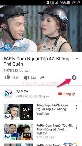 Cách xem video YouTube khi không cần Wifi 3G