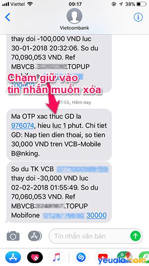 nhắn SMS trên iPhone Cách 2 2