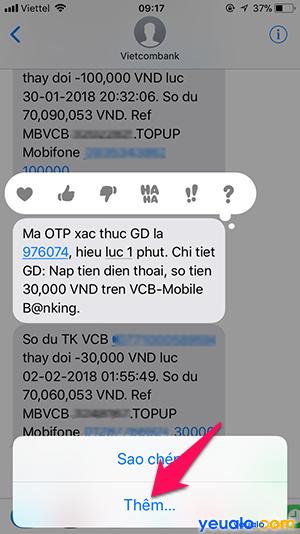nhắn SMS trên iPhone Cách 2 3