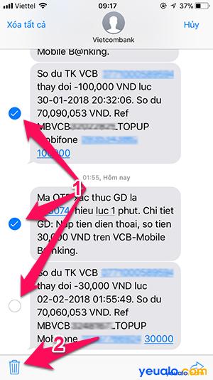 nhắn SMS trên iPhone Cách 2 4