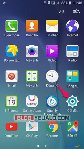 Cách xóa ứng dụng mặc định trên điện thoại Samsung Galaxy