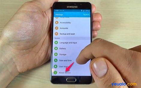Cách xóa xác minh tài khoản Google các máy Samsung Galaxy 2016 10