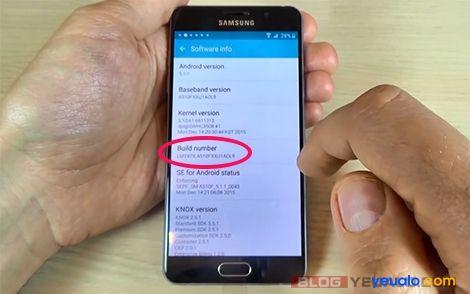 Cách xóa xác minh tài khoản Google các máy Samsung Galaxy 2016 11