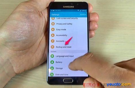 Cách xóa xác minh tài khoản Google các máy Samsung Galaxy 2016 14